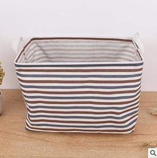 MJY Panier à linge, Boîte de rangement de bureau de panier à linge étanche Boîte de rangement de vêtements pliable Panier ...