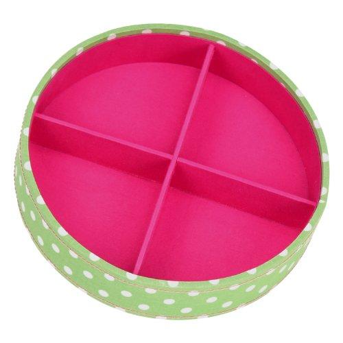 Button It Knopf, 82305, Textil, grün