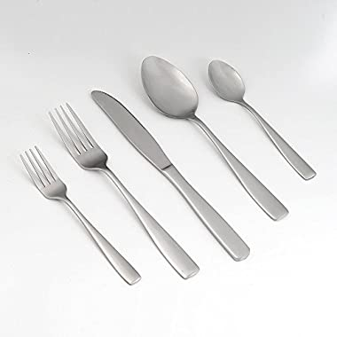 Eslite Stainless Steel Flatware Sets, 30-piece, Service for 6