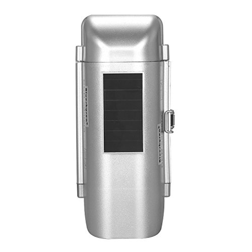 Blueskysea Solar Powered CCTV Security Fake Dummy Camera with Human Sensor and Flash Lights