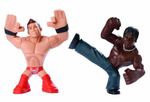 WWE Rumblers The Miz and R-Truth Figure, 2-Pack