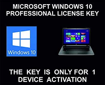 10 Professional License Key Genuine For 1 Device Activation