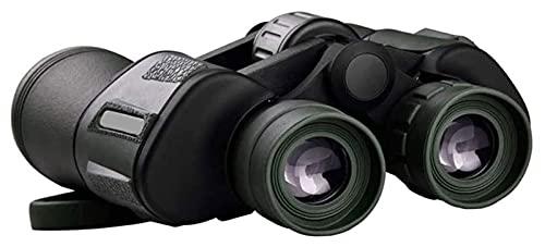 20x50 Potentes binoculares para adultos con visión nocturna de baja luz, ocular grande, 10 segundos enfoque rápido, impermeable gran angular compact-binoculares, para adultos, observación de aves, caz