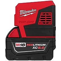 Milwaukee M18 175-Watt Cordless Power Supply Inverter with 5Ah Lithium-Ion Battery