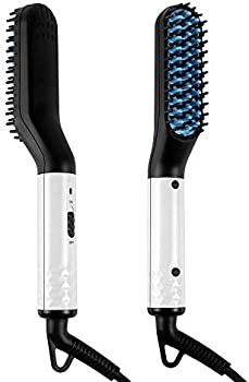 Geestock Portable Beard/Hair Straightener with FREE Beard Balm