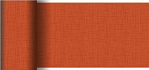 Duni Dunicel Tischläufer Linnea Mandarin 0,15 x 20 m