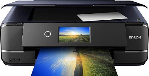 Epson Imprimante Expression Photo XP-970, Multifonction 3-en-1 : Imprimante recto verso / Scanner / Copieur, A3, Jet d'encre 6 couleurs, Wifi Direct, Ecran tactile, Cartouches séparées