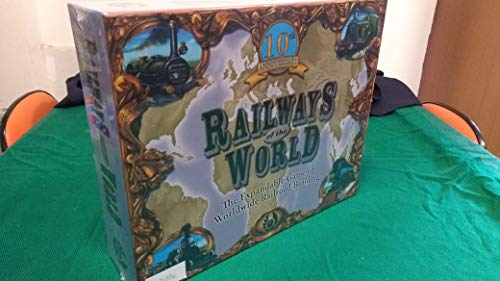 Railways of the World Board Game 10th Anniversary