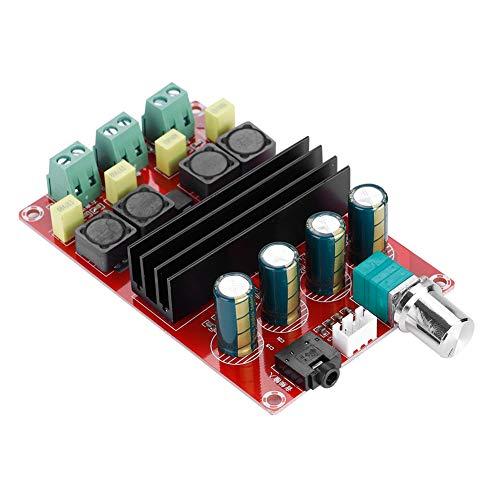 Zerone Borde del Amplificador de Potencia del Doble Canal del Borde del Amplificador de Alta Potencia 12-24V, Alto Poder del Borde del Amplificador tpa3116de 2× 100W y Calor Bajo