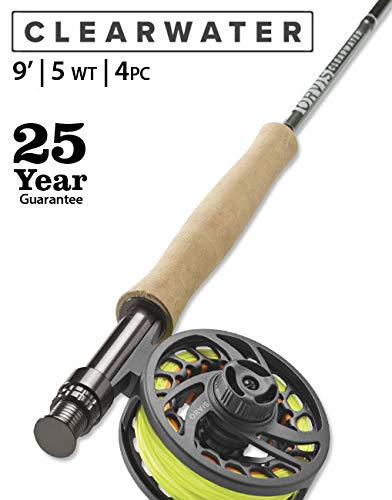 Orvis Men's Clearwater 5-Weight 9' Fly Rod