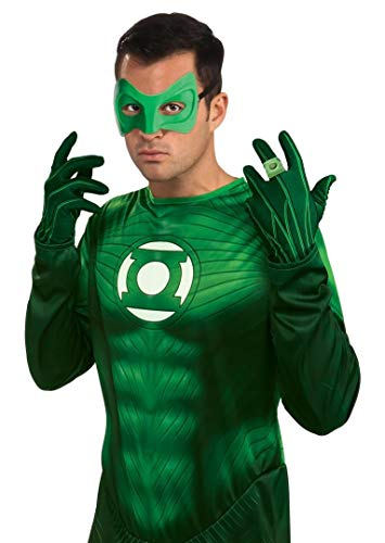 Rubie's Costume Green Lantern Adult Gloves, Green, One Size