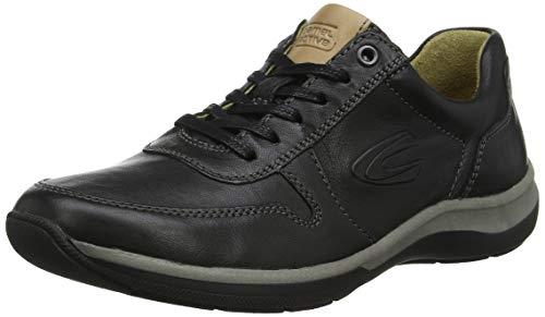 camel active Herren Path 11 Sneaker, Schwarz (Black 2), 44 EU