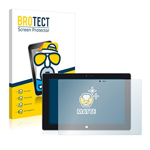 BROTECT 2X Entspiegelungs-Schutzfolie kompatibel mit Wortmann Terra Pad 1061 Bildschirmschutz-Folie Matt, Anti-Reflex, Anti-Fingerprint