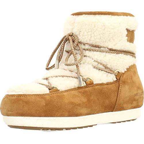Moon Boot Far Side Low Shearl, Women 38 Whiskey