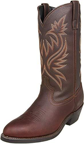 """Laredo Men's 12"""" Trucker boot,Brown,10 D US"""