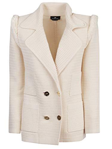 Elisabetta Franchi Luxury Fashion Donna MK02S01E2193 Beige Giacca | Primavera Estate 20
