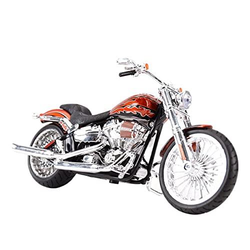Motocicleta Miniatura 1:12 para Harley-Davi & DSTS2014 CVO Breakout Drie Collecti Collectible Vehículos Hobbies Motorcycle Model Toys
