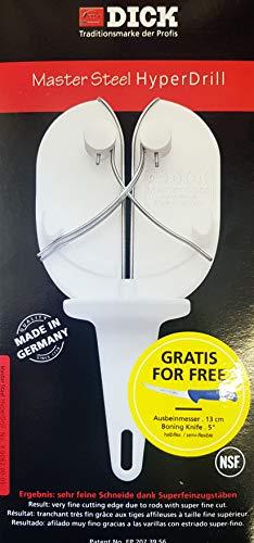 Emma-Der Eckentaler Metzgermarkt Dick Master Steel Hyper Drill mit Gratis Ausbeinmesser 13 cm