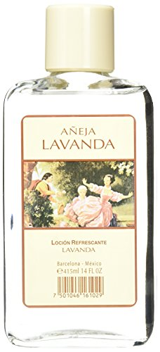 Premium After Shave Lavender, Glass Bottle, Relaxation and Stress Relieving, Product of Mexico (Lavender, 14 fl oz)
