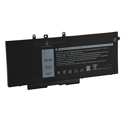 XITAIAN 7.6V 68Wh 8500mAh GJKNX GD1JP Ersatz Laptop Akku für Dell Latitude 5280 5290 5480 5490 5491 5495 5580 5590 Precision 3520 Mobile Workstation