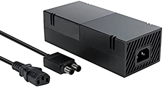 Xbox One Power Supply Brick (Quite Version) AC Adapter Cable Replacement Kit for Xbox 1 Console Games Auto Voltage 100-240...