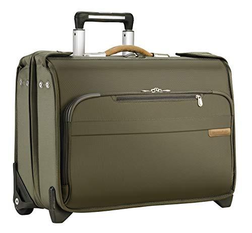 Baseline Carry-On Wheeled Garment Bag, 55cm, 48 litres, Oliv