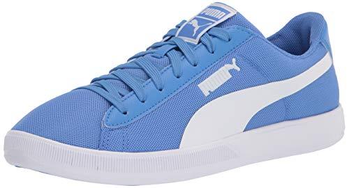 PUMA Unisex 365 2 Soccer Shoe, Blue Glimmer White, 9 US Men