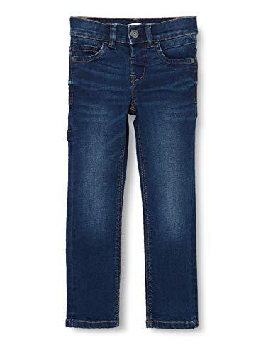 NAME IT Baby-Jungen NMMTHEO DNMBATOGO 3403 Pant Jeans, dunkelblau, 110