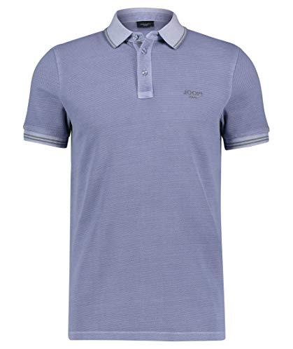 Joop! Herren Poloshirt Adonis Modern Fit Kurzarm bleu (50) M