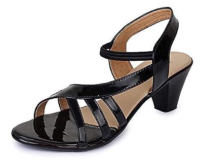 TRASE 43-047 Women's Kitten Heel Sandal - 2 Inch Heel