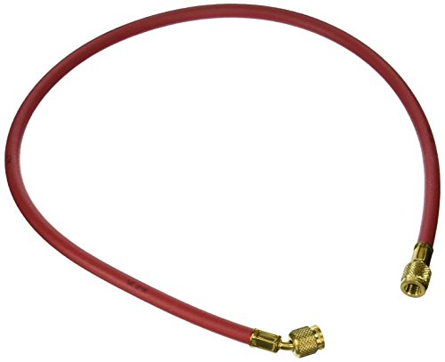 Yellow Jacket 21463 Plus II Hose with 1/4 Female Flare, 36, Red by Yellow Jacket