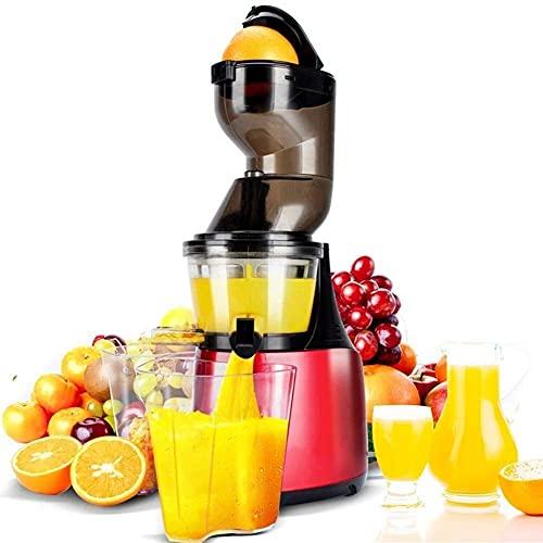 TNSYGSB Juicer Lento masticación-Comercial, Corte Libre, Manos Libres, Frutas Enteras y Vegetales,...