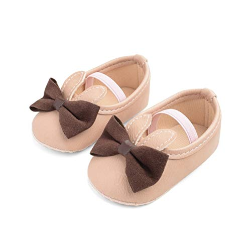 Youpin Bebe Mokassins aus PU-Leder für Babys, Jungen, Mädchen, weiche Sohle, rutschfeste Schuhe, für Babybett, Alter 0 bis 6 Monate, Farbe: JM0809P
