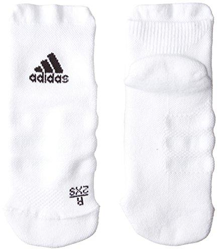 adidas Erwachsene Alphaskin Ankle Maximum Cushioning Socken, White/Black, EU 40-42