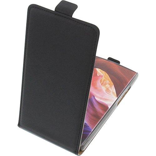 foto-kontor Funda para Bluboo S1 Protectora Tipo Flip para móvil Negra