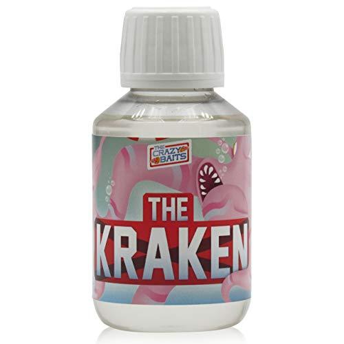 TheCrazyBaits Booster -TheKraken- ¡Mejorada Y Exclusiva Receta 2021!. Confecciona y remoja Tus cebos. 4x4 All Seasons. Super eficaz para CarpFishing (Pesca de Carpas)