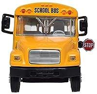 おもちゃの車子供のおもちゃのシミュレーションスクールバス乗用車の合金の車のモデルのおもちゃギフトコレクション
