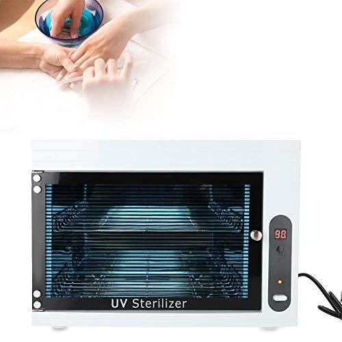 High Temperature 220V Sterilizer Manicure Tools UV Disinfection Box Storage Case Organizer Cabinet Scissors Towel Nail Tools Sterilizer Equipment for Beauty Nail Metal Tools, UK Plug (UK #1) …