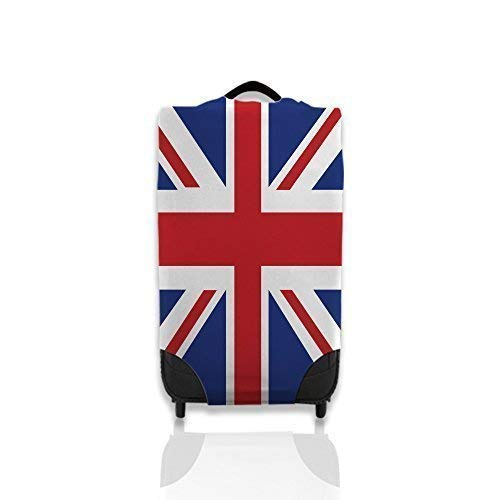 Union Jack Design Suitcase Cover Easily Identify Your Case *Suitcase Not Included* Large