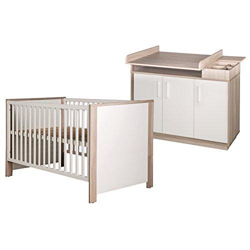 Roba Kinderzimmer - Set OLAF 2 - teilig (Kinderbett & Wickelkommode)