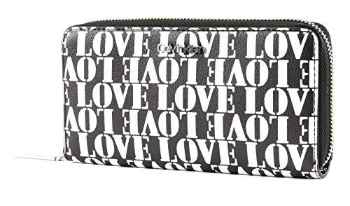 Calvin Klein CK Must Large Zip Around Love Print