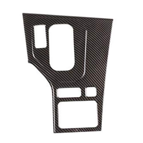 CMEI Ajuste del Panel de la Perilla del Marco Decorativo del Engranaje del Coche para E39 5 Series 1998-2001 LHD (Color Name : Black)