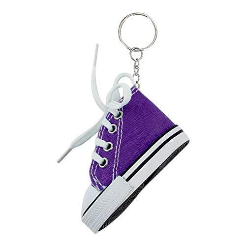 Schlüsselanhänger aus Segeltuch, 5 Stück, kreativ, bunte Schuhe, Schlüsselanhänger, Fahrrad-/Motorrad-Halterung, Mattenpolster, für Damen und Herren, Souvenir, Geburtstagsgeschenk