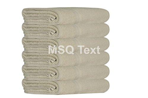 MSQ 6 Piezas de Toallas de Baño Extra Grandes Jumbo SPA