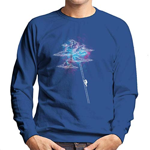 Ladder to The Cotton Candy Clouds Sweatshirt voor heren