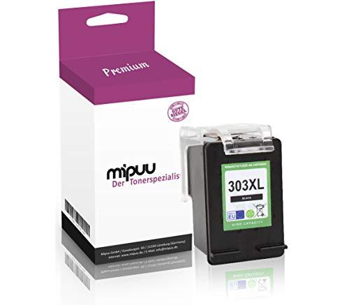 Mipuu inkt compatibel met HP 303XL 303 XL T6N02AE zwart zwart voor Envy Photo 6220 6230 WiFi 6232 6234 7130 7134 7830 7834 Tango-X