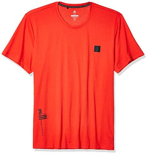 adidas Adicross Graphic Tee - Camiseta de manga corta - TM1514S20, Adicross Graphic - playera, S, Rojo