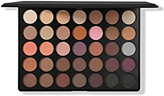 Morphe Pro 35 Color Eyeshadow Palette Warm 35W-Professional matte powder makeup palette with intense pigment