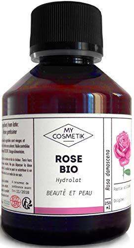 Hydrolat de Rose BIO Cosmétique - MyCosmetik - 250 ml