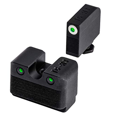TRUGLO Tritium Pro Glock MOS Low Set Night Sight, Black, One Size (TG231G1MW)